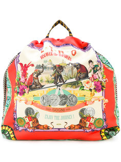 circus print backpack Etro