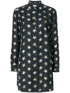 платье-рубашка со звездами Equipment