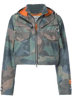 укороченная камуфляжная куртка Heron Preston