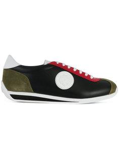 кроссовки с логотипом дизайна колор-блок Versus