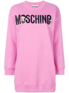 платье-толстовка Betty Boop Moschino