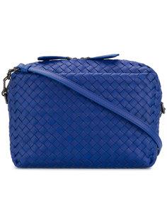 плетеная сумка-мессенджер  Bottega Veneta