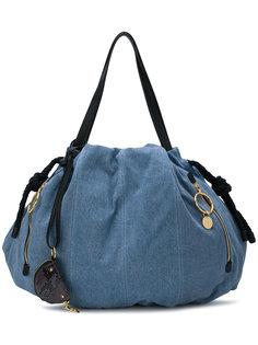 джинсовая сумка-тоут  See By Chloé