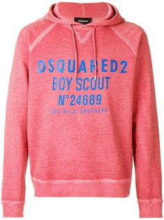 толстовка с принтом Boy Scout Dsquared2