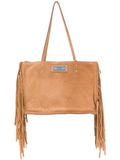 сумка-тоут Etiquette с бахромой Prada