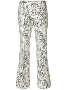 жаккардовые брюки  Giambattista Valli