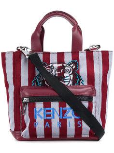 сумка-тоут в полоску Tiger  Kenzo