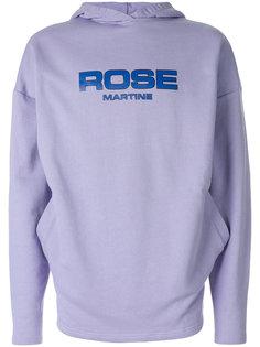 худи с логотипом Martine Rose