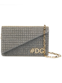 Hashtag logo crossbody bag Dolce & Gabbana