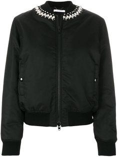 куртка-бомбер с отделкой  Givenchy