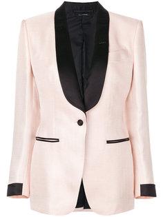 пиджак с лацканами-шалькой Tom Ford