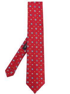 галстук с вышивкой  Etro