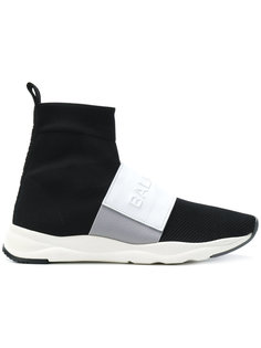 кроссовки с носком с логотипом Balmain