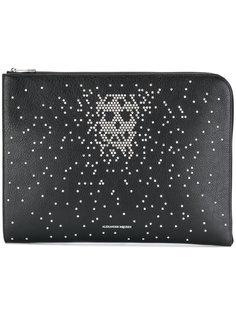 embellished skull clutch bag Alexander McQueen