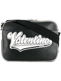 logo patch messenger bag Valentino