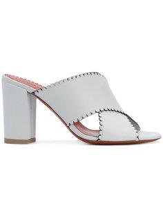crossover strap mules Santoni