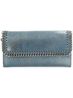 metallic falabella wallet Stella McCartney