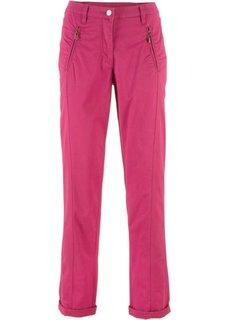 Эластичные брюки Chino (ягодный) Bonprix