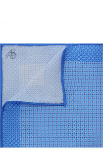 Шелковый платок с узором Canali