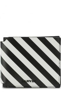 Кожаное портмоне с отделениями для кредитных карт Lanvin