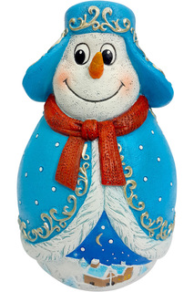 Неваляшка Снеговик Mister Christmas