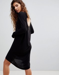 Платье с длинными рукавами Cheap Monday Ban - Черный