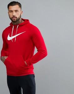 Красный худи с логотипом Nike Training Dry 885818-687 - Красный