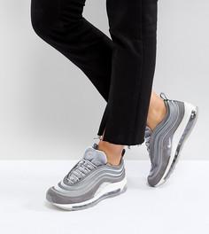 Серые бархатные кроссовки Nike Air Max 97 Ultra 17 - Серый