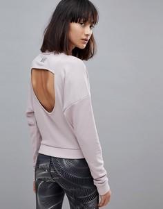 Топ с вырезом на спине Nike Training Dry - Розовый