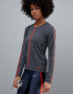 Лонгслив Nike Pro Training - Черный