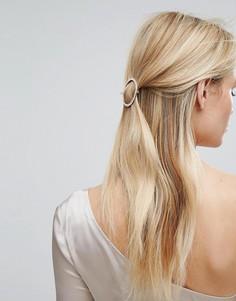 Заколка для волос с камнями Orelia - Золотой