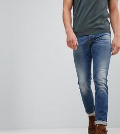 Выбеленные джинсы Nudie Jeans Co Grim Tim - Синий
