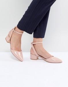 Туфли на низком каблуке с заостренным носком ALDO Zewiel - Бежевый