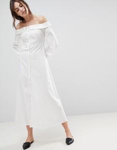 Платье макси Stylemafia Rimal - Белый