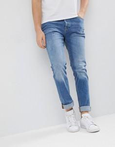 Зауженные джинсы из органического хлопка Jack & Jones Intelligence - Синий
