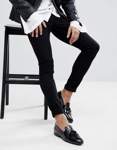 Черные джинсы скинни Noose & Monkey - Черный