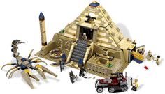 Конструктор Lepin Пирамида Фараона 822 дет. 31001