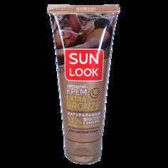 Автозагар для лица и тела `SUN LOOK` Extra Bronze для светлой кожи 75 мл