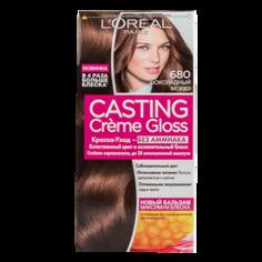Крем-краска для волос `LOREAL` `CASTING` GLOSS тон 680 (Шоколадный мокко)