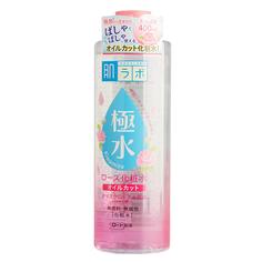 Мицеллярная вода `HADA LABO` KIWAMIZU c розой 400 мл