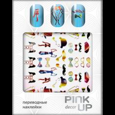 Наклейки для ногтей переводные `PINK UP` NAIL DESIGN тон 501