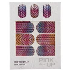 Наклейки для ногтей переводные `PINK UP` NAIL DESIGN тон 551