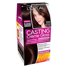 Крем-краска для волос `LOREAL` `CASTING` GLOSS тон 323 (Чер.шоко)