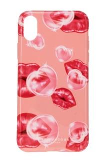 Розовый чехол для iPhone X Marc Jacobs