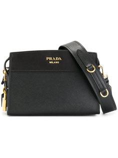 сумка на плечо с застежкой на молнию Prada