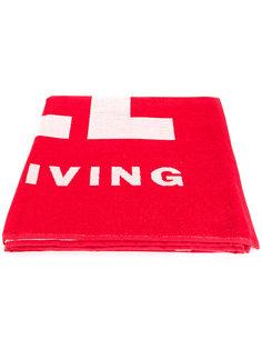 пляжное полотенце с принтом логотипом Diesel