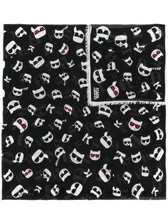 шарф K/Ikonik Karl Lagerfeld