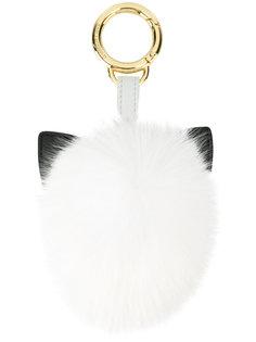 меховой брелок для ключей Karl Love Karl Lagerfeld