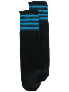трикотажные носки в полоску Maison Margiela