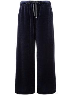 бархатные брюки палаццо Astraet